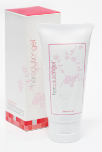 Hersolution gel vaginal lubricant for menopause